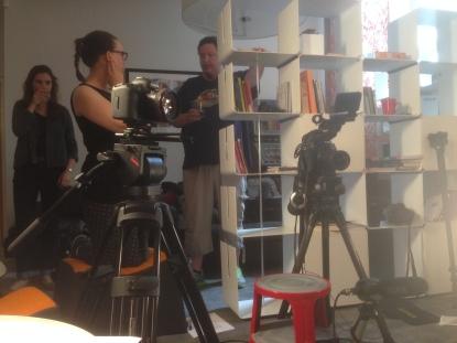 Filming at Graeae